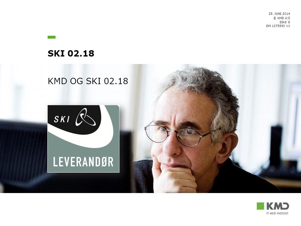 KMD OG SKI 02.18 [Forfatter/Ansvarlig]